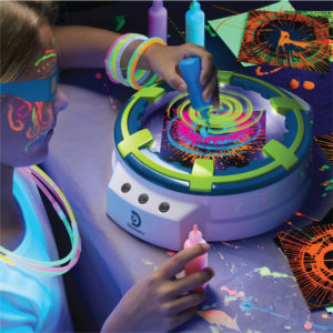 3d Glow Spin Art Station 300x300