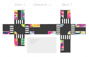 Chester Arthur Elementary School Intersection Design