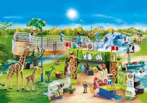 Playmobile Large City Zoo
