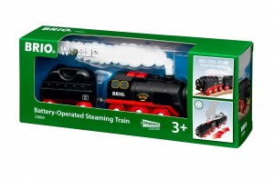 Battery Operated Steaming Train