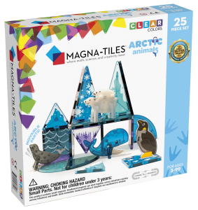 Magnatiles Arcticanimals 25pc Carton Angle Front
